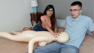 MIA KHALIFA – Nerdy Fan Gets To Lose His Virginity To The #1 Pornstar In The World